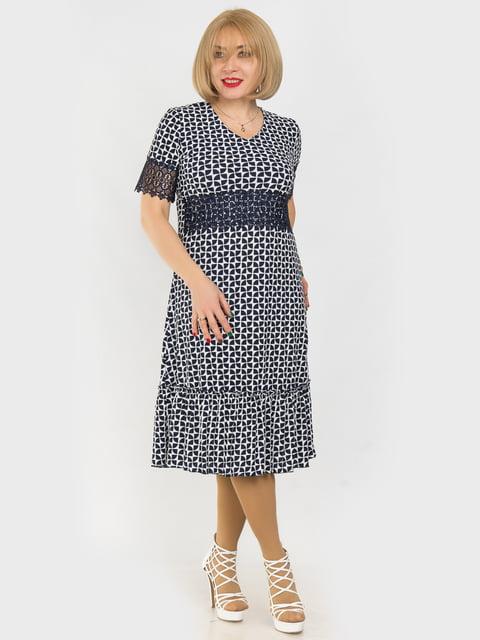 Платье в принт LibeAmore 4975317