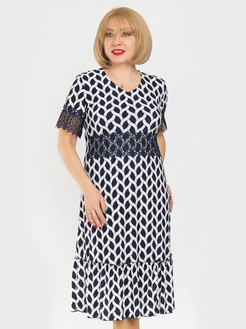 Платье в принт LibeAmore 4975329