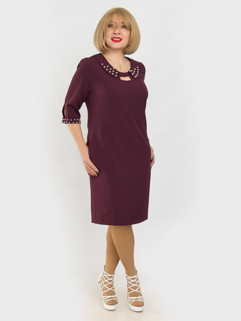 Сукня бордова LibeAmore 4975330