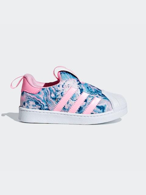 Кроссовки в принт Adidas 4886221