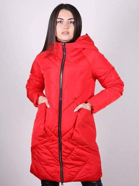 Пальто красное Artua Collection 4977710