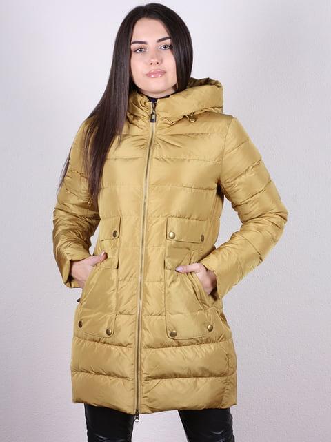 Пальто горчичного цвета Artua Collection 4977714