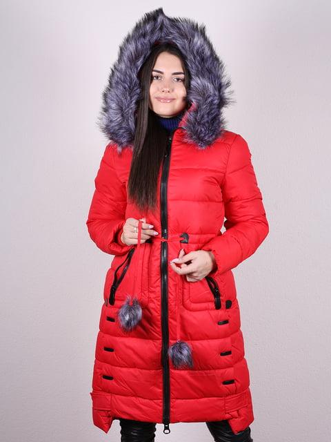 Пальто красное Artua Collection 4977722