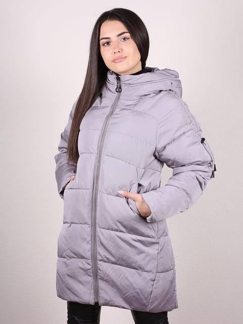 Пальто серое Artua Collection 4977726