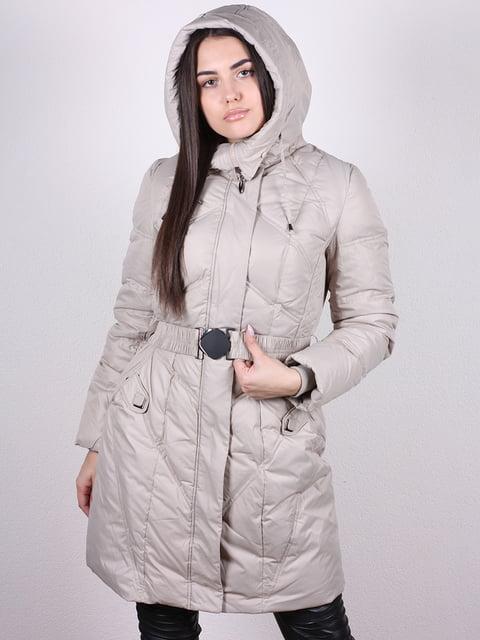 Пальто светло-бежевое Artua Collection 4977796