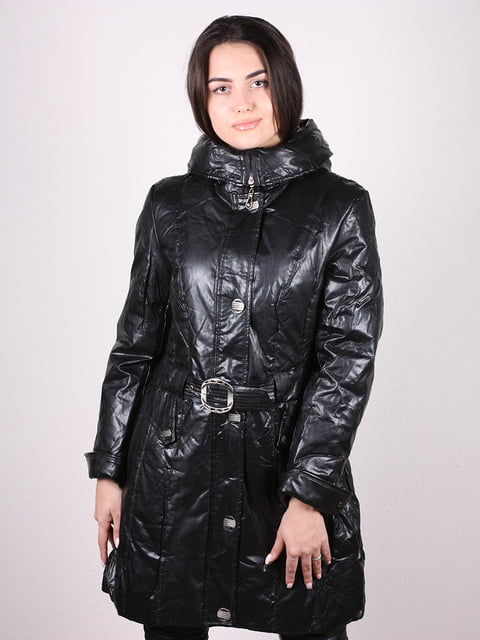 Пальто черное Artua Collection 4906667