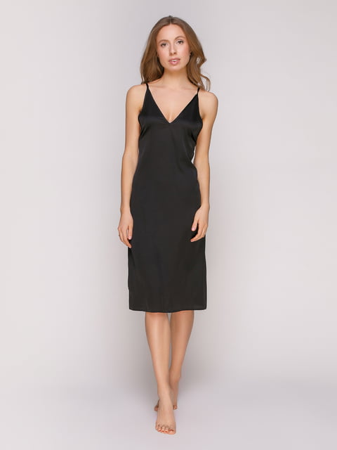 Рубашка ночная черная Lapin 4971002