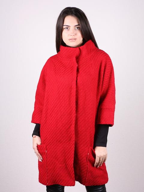 Пальто красное Artua Collection 4906673