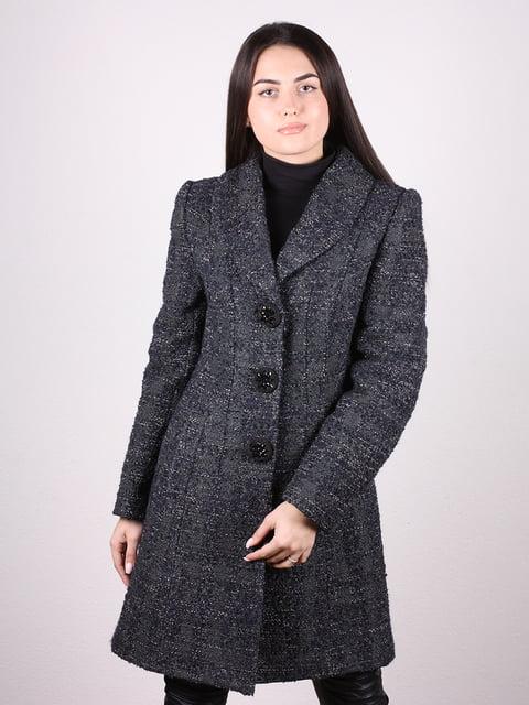 Пальто серо-черное Artua Collection 4906676