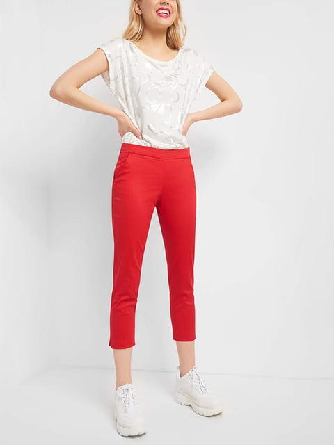 Брюки красные Orsay 4977911