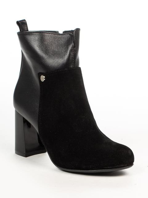 Ботинки черные Fabiani 4948460