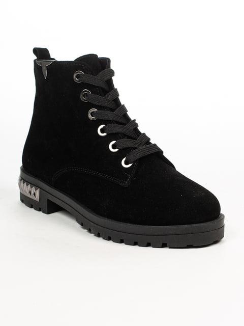 Ботинки черные Fabiani 4948463