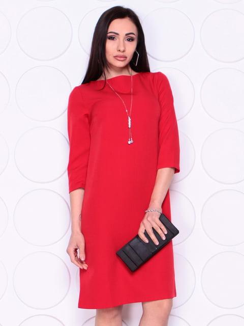 Платье красного цвета Laura Bettini 4978792