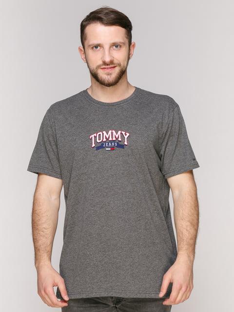 Футболка сіра Tommy Hilfiger 4975367