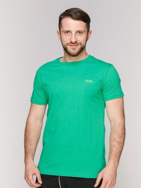Футболка зеленая HUGO BOSS 4975406