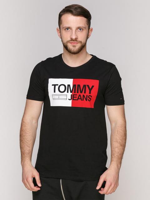 Футболка чорна Tommy Hilfiger 4975351