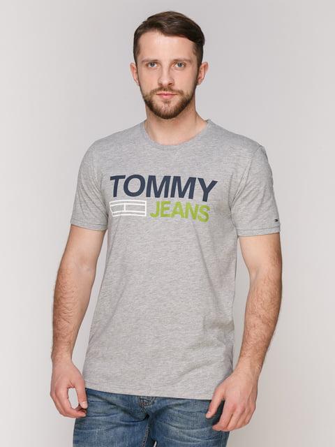 Футболка сіра Tommy Hilfiger 4975360