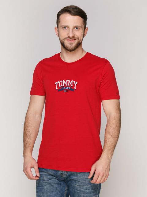 Футболка красная Tommy Hilfiger 4975336
