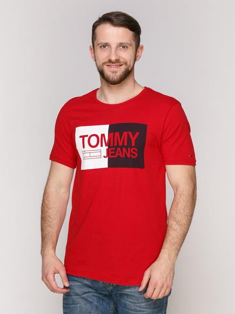 Футболка червона Tommy Hilfiger 4975352