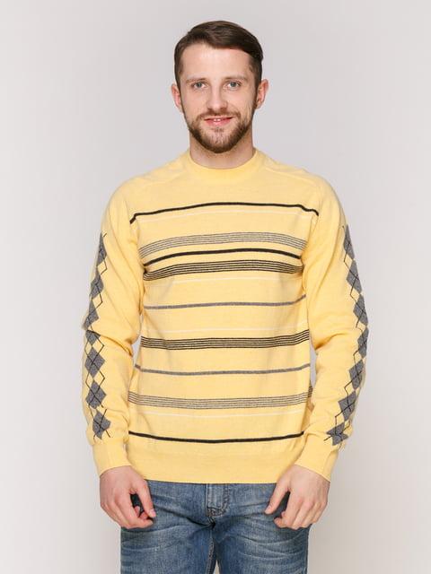 Джемпер жовтий LENART 4906965