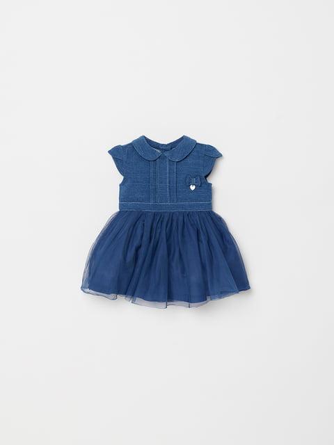 Платье синее Oviesse 4903003