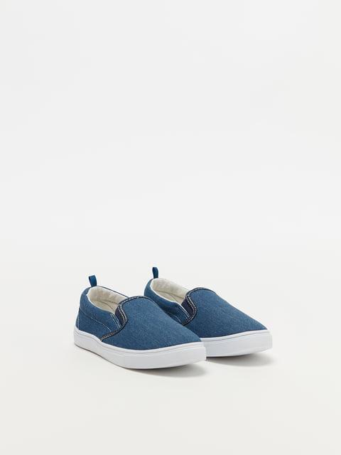 Слипоны синие Oviesse 4970622