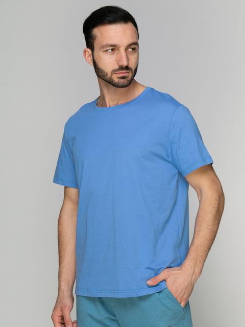 Футболка блакитна Arber 4959314