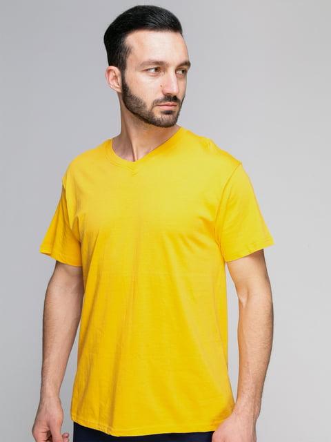 Футболка жовта Arber 4959336