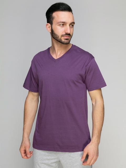 Футболка фіолетова Arber 4959339