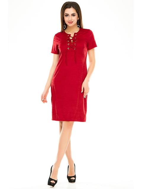 Сукня бордова Exclusive. 4979868