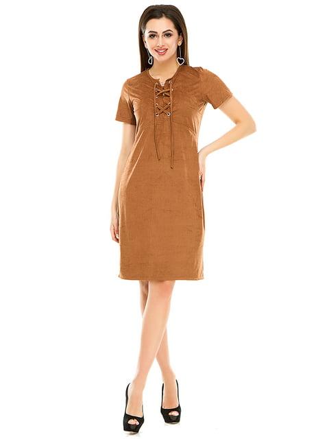 Сукня гірчичного кольору Exclusive. 4979869