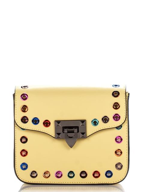 Сумка жовта Amelie Pelletteria 4757094