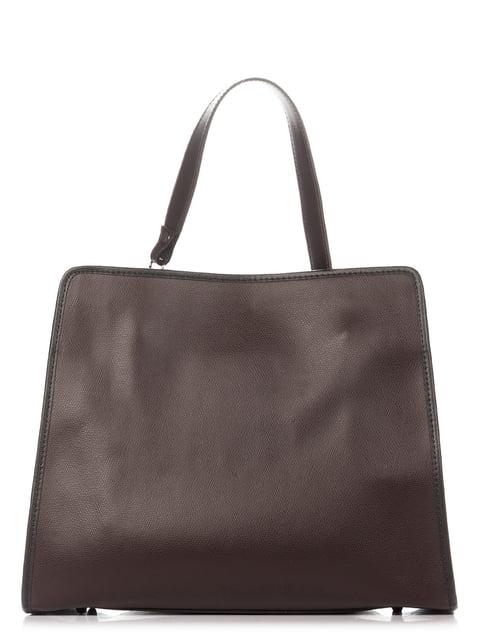 Сумка темно-коричневая Italian Bags 4757184