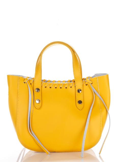 Сумка жовта Amelie Pelletteria 4757271