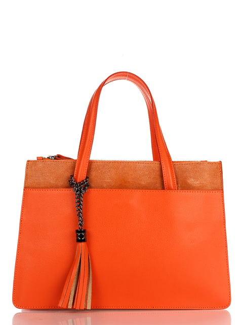 Сумка помаранчева Amelie Pelletteria 4757388