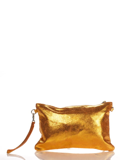 Клатч помаранчевий Italian Bags 4757409