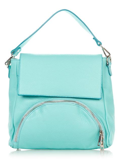 Сумка м'ятного кольору Italian Bags 4757535
