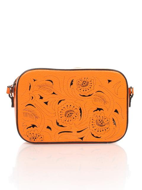 Клатч помаранчевий Amelie Pelletteria 4757641