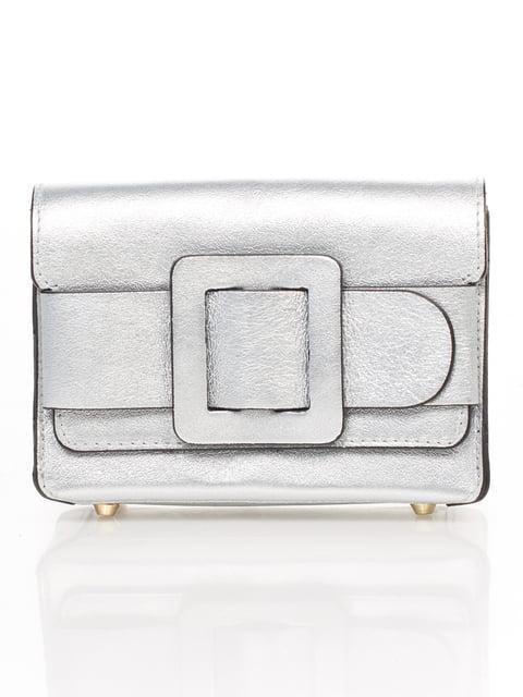 Сумка срібляста Amelie Pelletteria 4757656