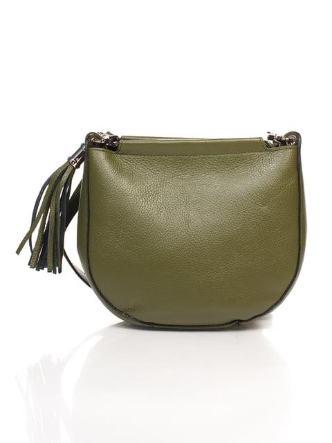 Сумка зелена Amelie Pelletteria 4757839
