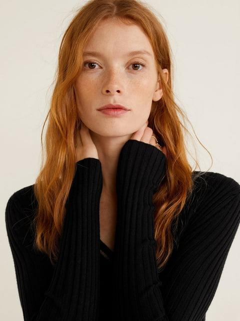 Пуловер чорний Mango 4885572