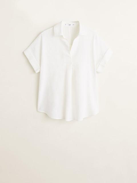 Рубашка белая Mango 4902577