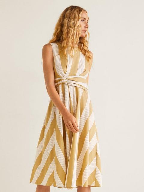 Платье в полоску Mango 4902584