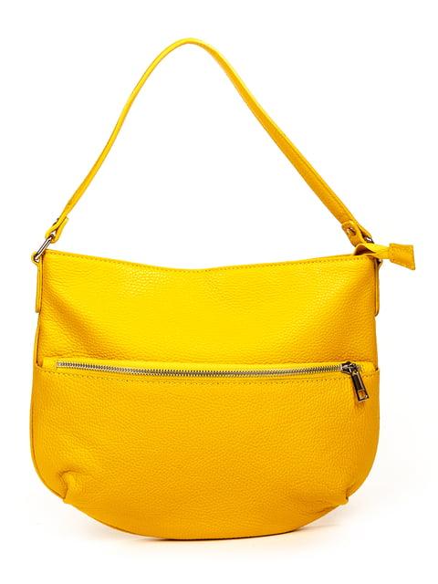 Сумка жовта Amelie Pelletteria 4979487