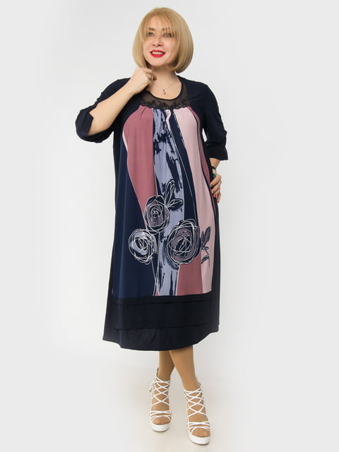 Платье темно-синее LibeAmore 4982852