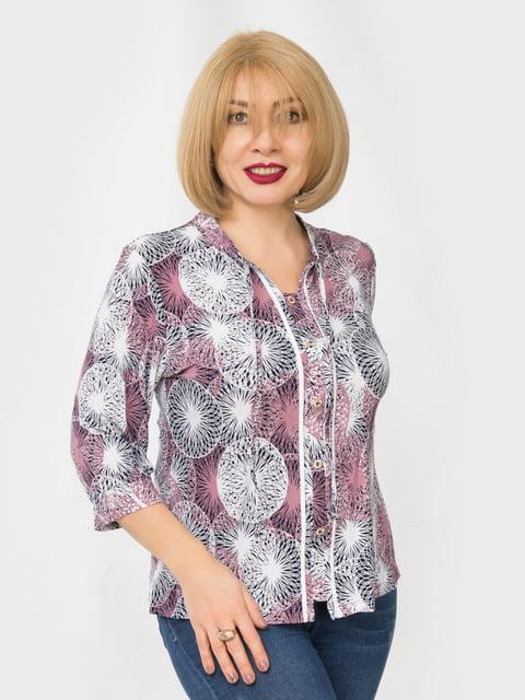 Блуза в принт LibeAmore 4982880