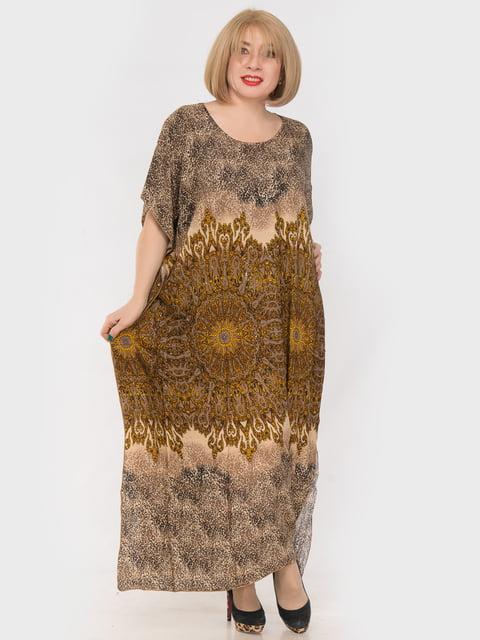 Платье в принт LibeAmore 4982874
