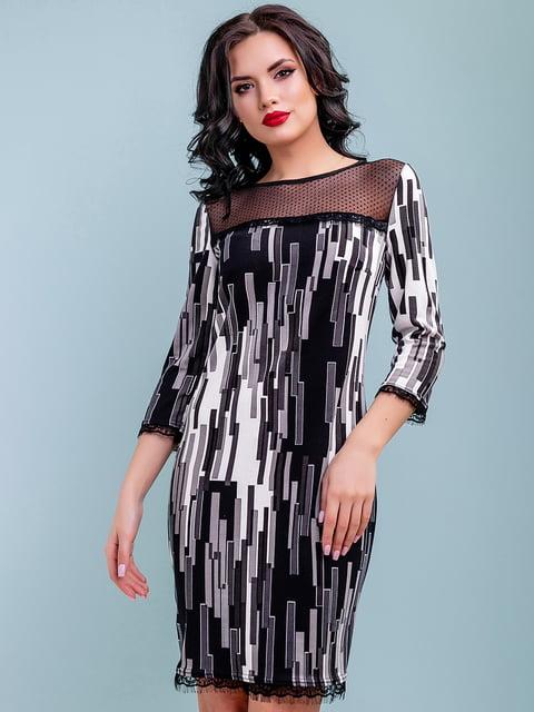 Платье в принт Seventeen 4983730