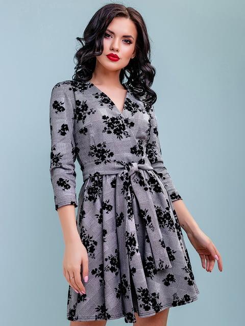 Платье в цветочный принт Seventeen 4983732