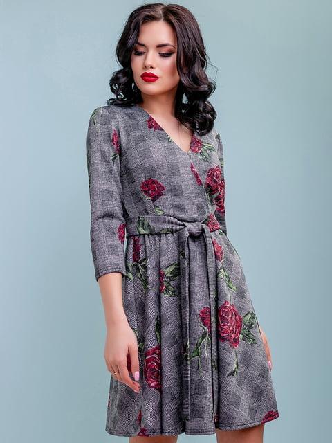 Платье в цветочный принт Seventeen 4983733